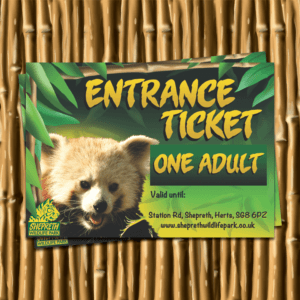 WILDLIFE WALK TICKETS