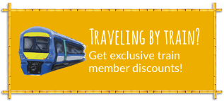 Exclusive train user discounts