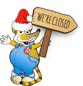 Sorry, we are closed today.