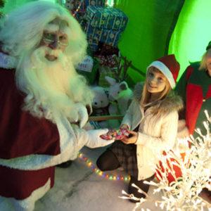 Santa at the Zoo